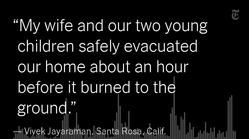 He was away on a business trip when the wildfires approached his Santa Rosa home https://t.co/rnsVibJXND https://t.co/GIntt5vRFS