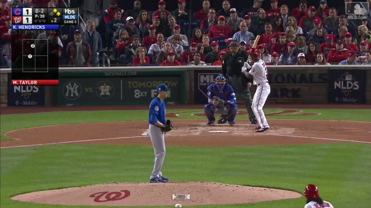Don't pitch to @Taylor_Michael3 either. #NLDS https://t.co/NmwrhQAQTW