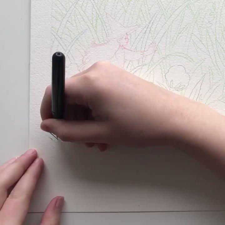Process of Hare's Tail https://t.co/ZautgvbapB
