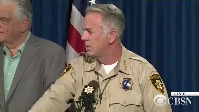 NOW: Clark County Sheriff Joe Lombardo delivers update on Las Vegas massacre investigation https://t.co/Okz2bwUl4f https://t.co/BqZUhnNmmA
