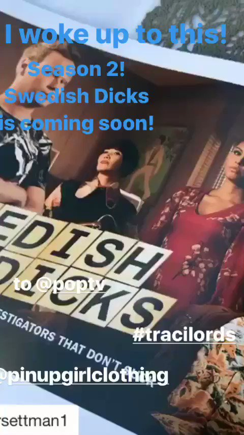 Just in time! More laughs coming soon #tracilords #season2