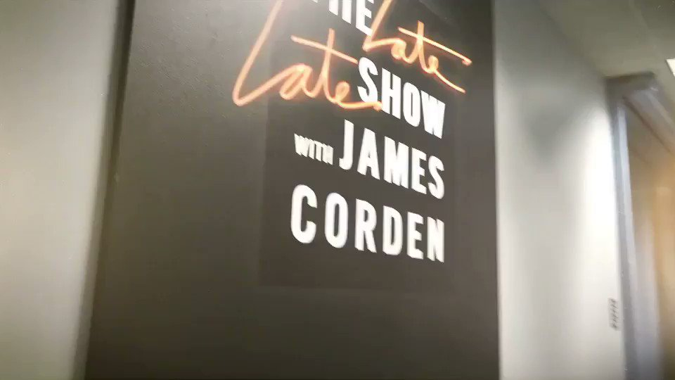 Riffing with @JKCorden last week. ???? https://t.co/ZnTGZulDw1