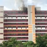 Fire breaks out in Hougang flat, no injuries reported