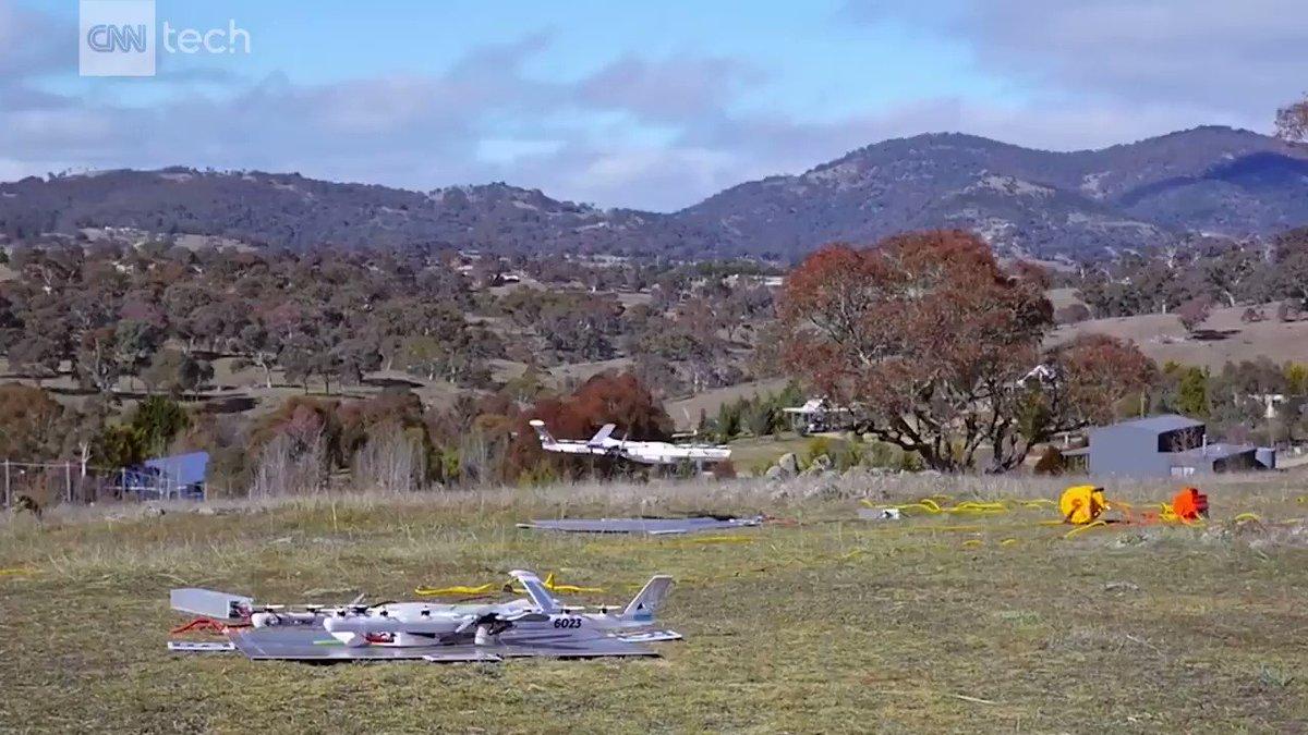 Google drones will drop burritos into people's yards in Australia