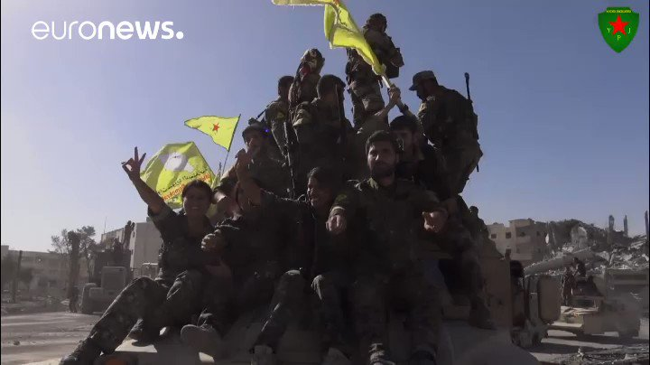 Syrian Democratic Forces' 'donut stunt' marks end of Islamic State siege over