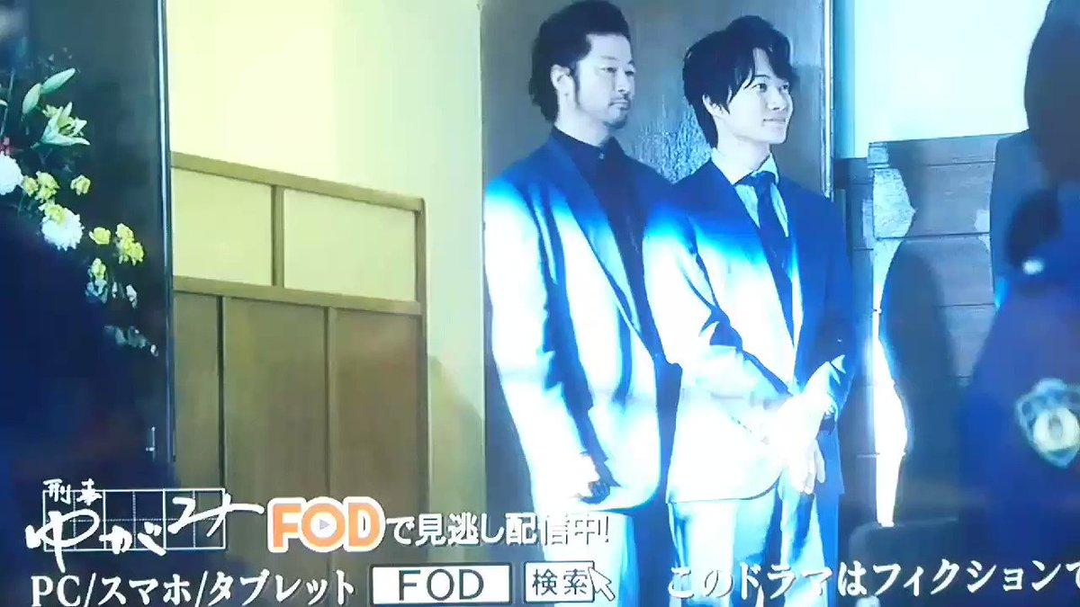 RT @raccokyun: 膝カックンされてるwww  #刑事ゆがみ https://t.co/VUsKAIMm4u