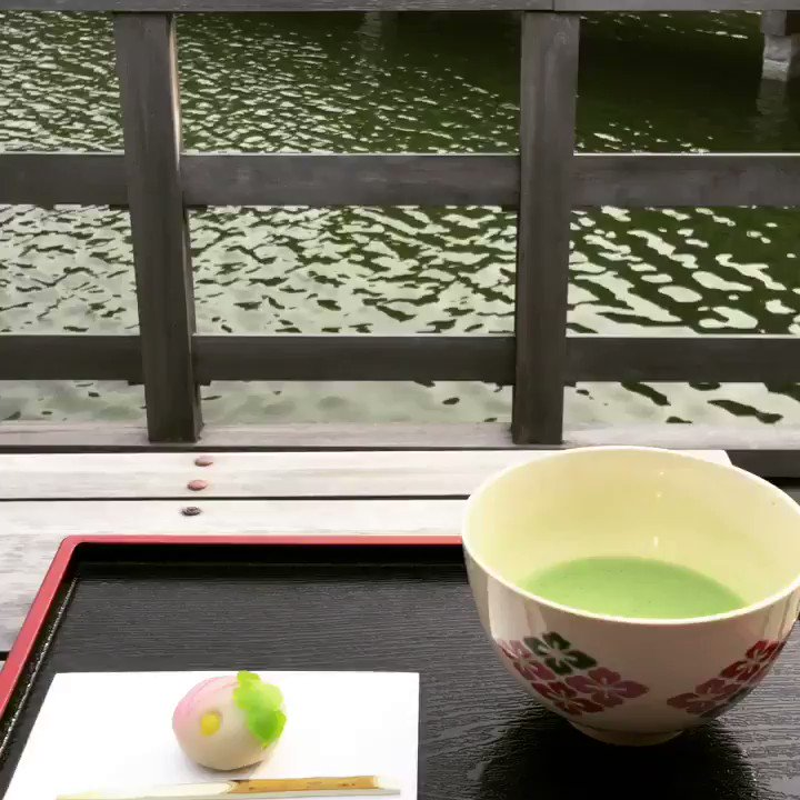My favourite garden in Tokyo is the Hamarikyu Koen. Visiting there I take a break at the tea house and enjoy a cup of matcha 🍵 with sweets. https://t.co/PN2N6tiBlC