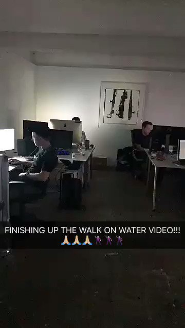 ???????????????????????????????????????????????? #WALKONWATER https://t.co/dC4gnHrx9u