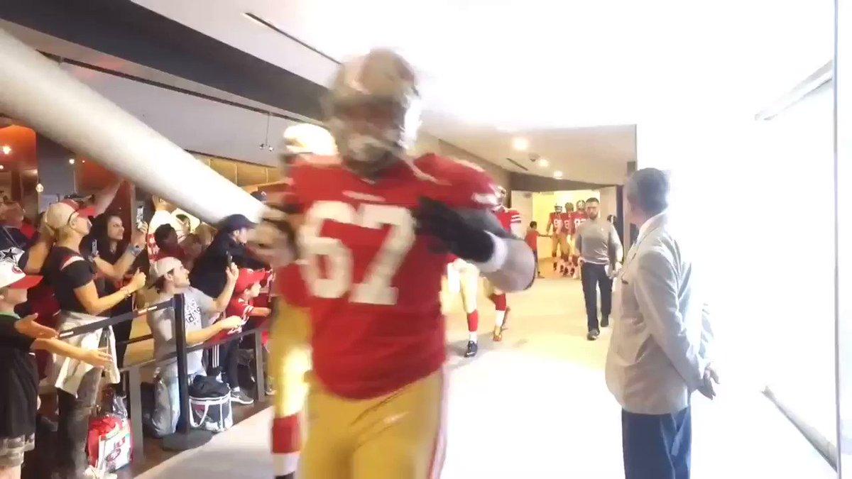 RT @49ers: C.J. Beathard making his first @NFL start! #DALvsSF https://t.co/iZfijK5kij