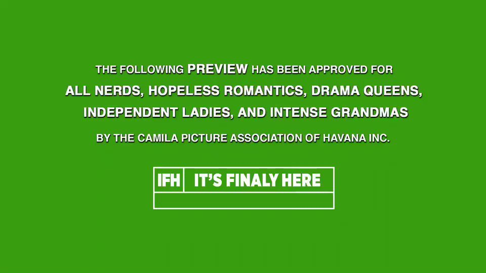 #HAVANAtheMOVIE 10/24 �� https://t.co/rNEAVDys2Q @Camila_Cabello https://t.co/N0CbxFzFJw