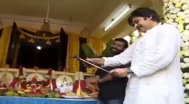 RT @iDreamMedia: Fun moments from #NTR28Launch   #JrNTR #Trivikram10 #NTR28 #PawanKalyan https://t.co/9iDPXCPf1U