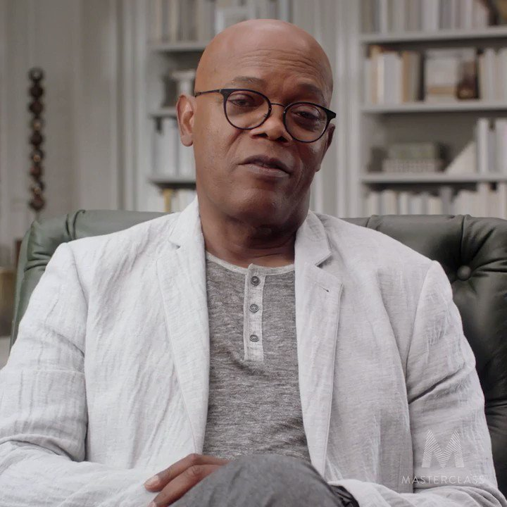 I'm Samuel L. Jackson, and this is my @MasterClass. Please Come Join me! Learn more at: https://t.co/5ZSJPRYToZ https://t.co/VYDu5MOv82