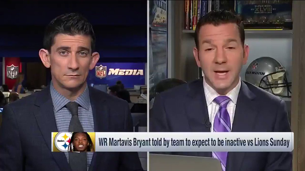 The latest on #Steelers WR Martavis Bryant, who won't be fined but will be made inactive Sunday if nothing changes https://t.co/bcLHFz3Yg8