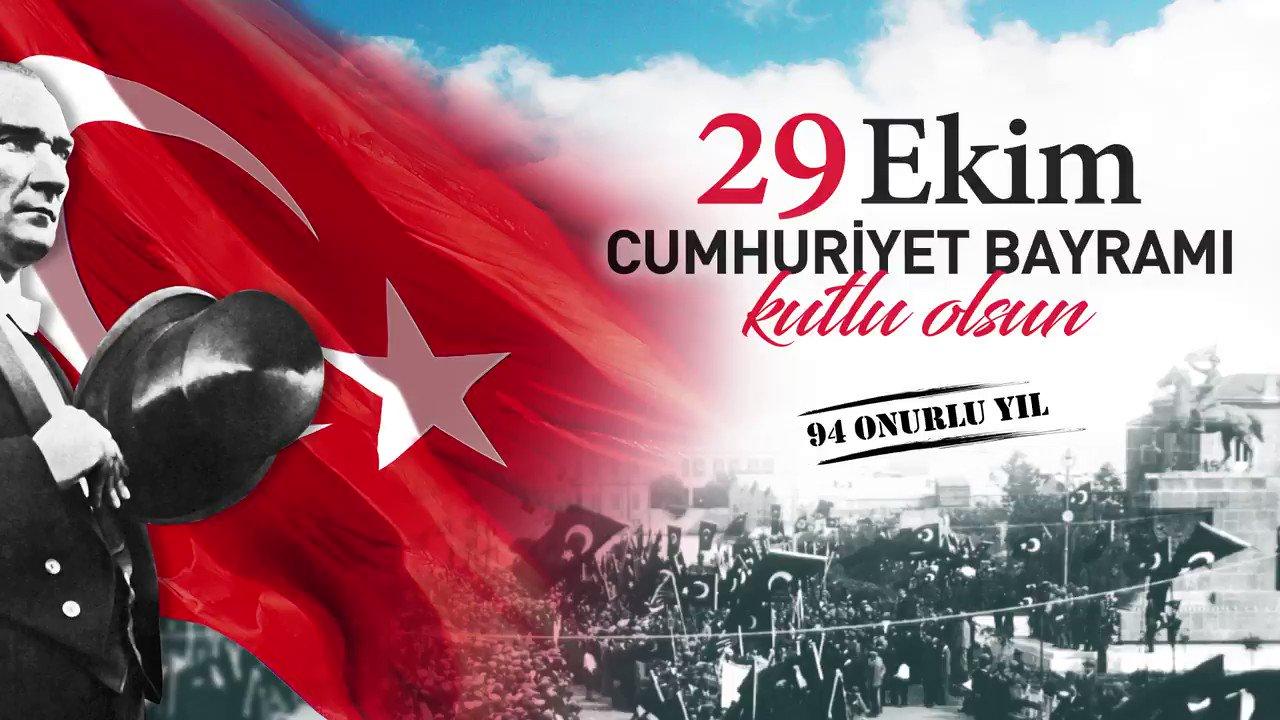 29 Ekim 2017 Pazar günü saat 18.30'da İzmirlilerle birlikte Bayrağımızı gururla taşıyoruz! Gelin, bu onuru ve gururu birlikte yaşayalım! https://t.co/KCvpH4B6kK