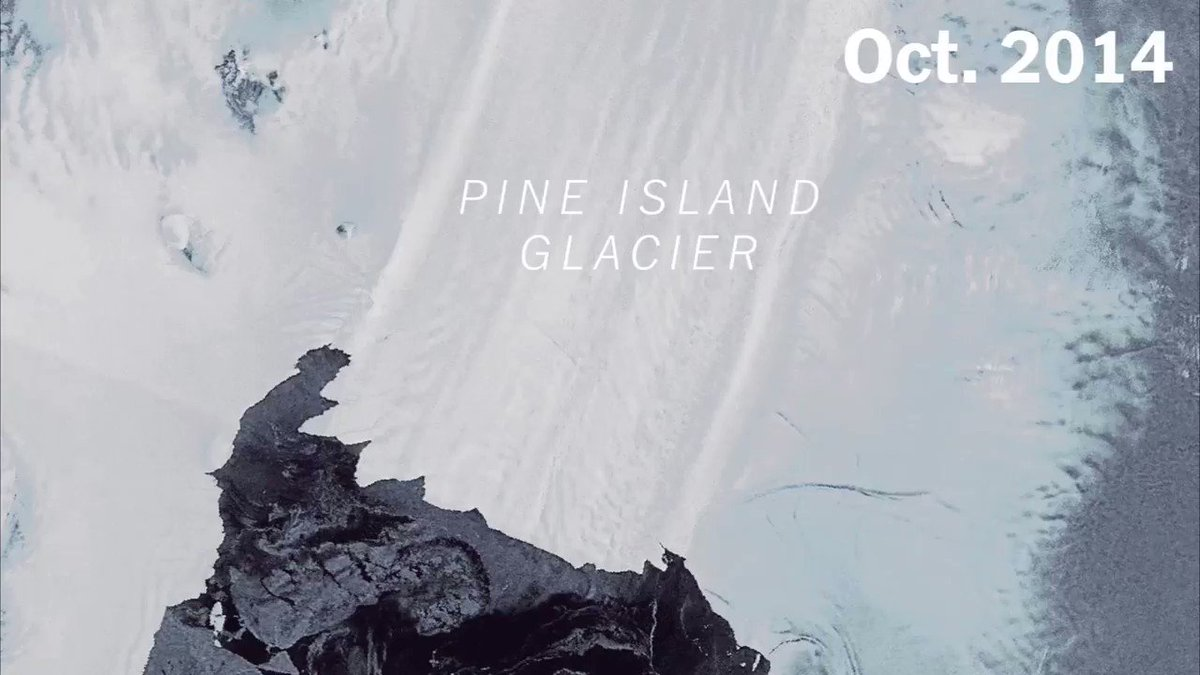 Two of Antarctica's fastest-moving glaciers are accelerating toward the sea: https://t.co/9GFIOwXKar https://t.co/8H63hIxgic