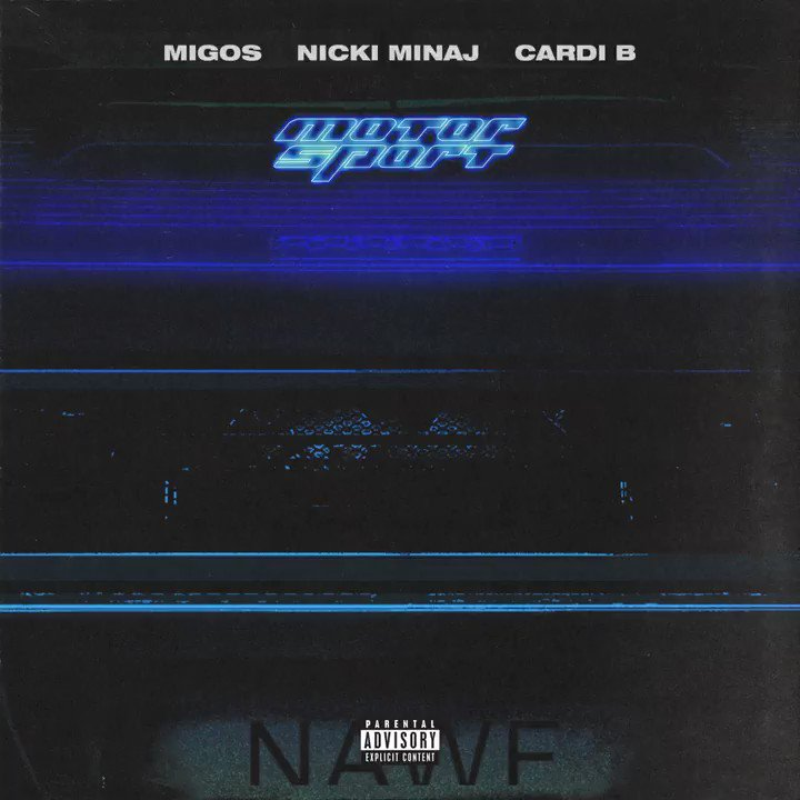 .@Migos x @nickiminaj x @iamcardib = #MOTORSPORT Listen now ����  https://t.co/ESVU2UkQ3i https://t.co/sQkdljhyAf
