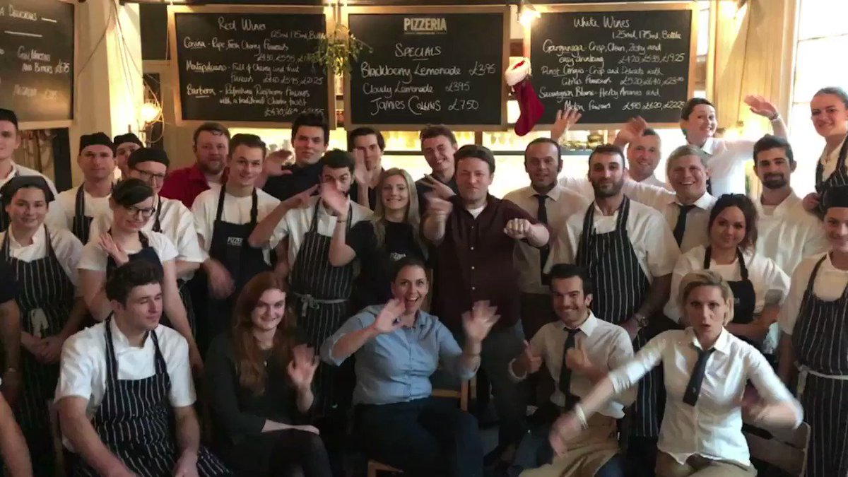 So so proud of my @JamiesItalianUK Cambridge family. Big love guys!! JO x https://t.co/UvOwO6A8Cm