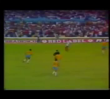 Happy Birthday John Barnes!  This wasn\t a bad way to get his first England goal
