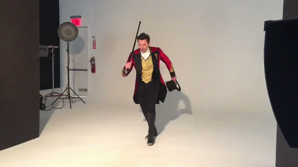 Being Barnum. @GreatestShowman https://t.co/RjSWbD0DJn