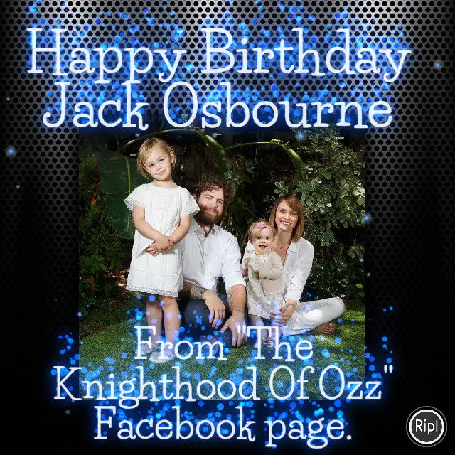 Happy Birthday Jack Osbourne! via