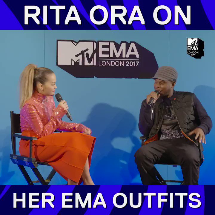 RT @mtvema: Literally so excited to see what @RitaOra wears tonight ???????? #MTVEMA https://t.co/BB8UdfCnK3