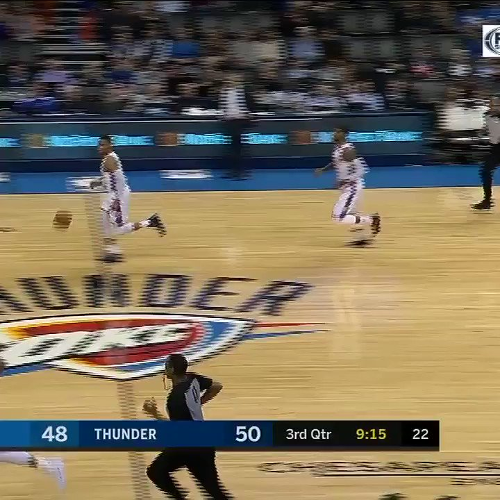Paul George has two first names, and one hammer to drop. https://t.co/1Ez68BVAxK
