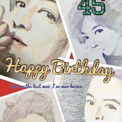 11/13 Kimura Takuya Happy Birthday