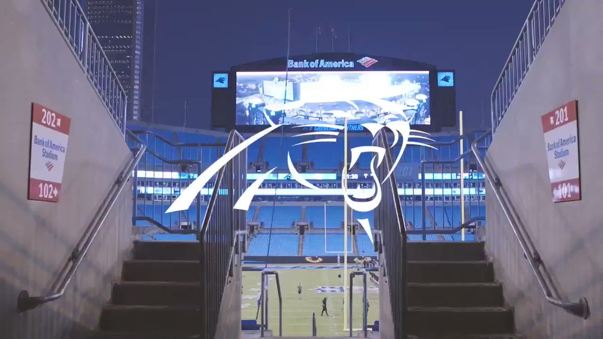Stage is set for Monday Night.  #KeepPounding https://t.co/WUsGcn3vbs