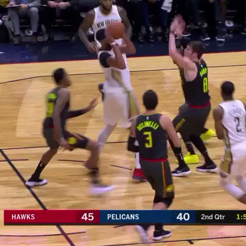 Anthony Davis is continuing to find new ways to score! #DoItBig https://t.co/OVp663XAZE