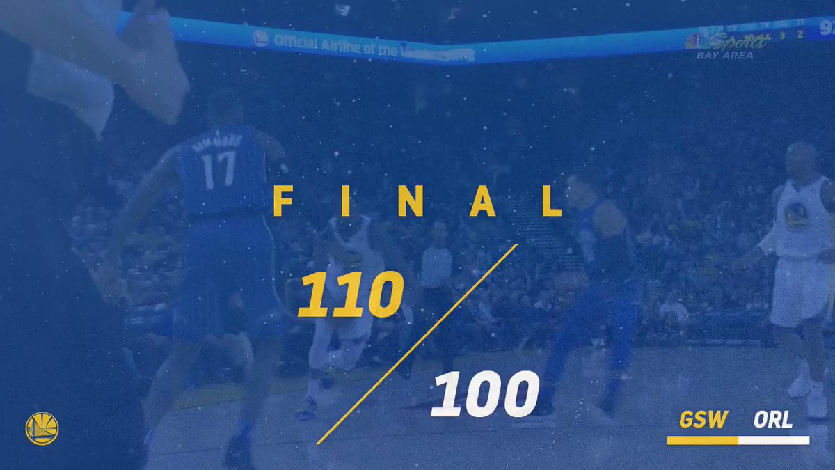 The streak continues �� #DubNation https://t.co/JP3YuqVdCg