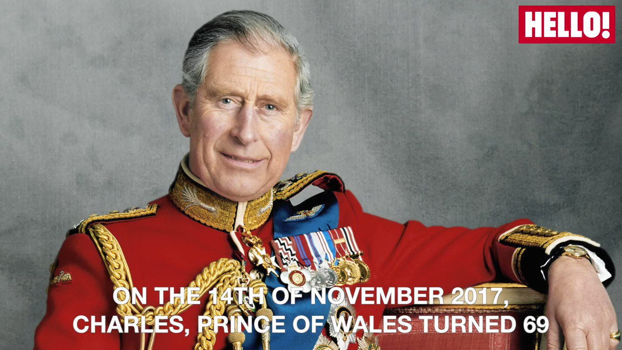 Happy birthday HRH The Prince of Wales Prince Charles turns 69 today!