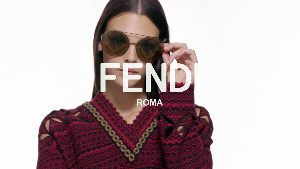Remix your style with fresh #FendiRunaway shades. For more from #FendiEyewear visit https://t.co/LPxAHLEljy https://t.co/hutalgOUsb
