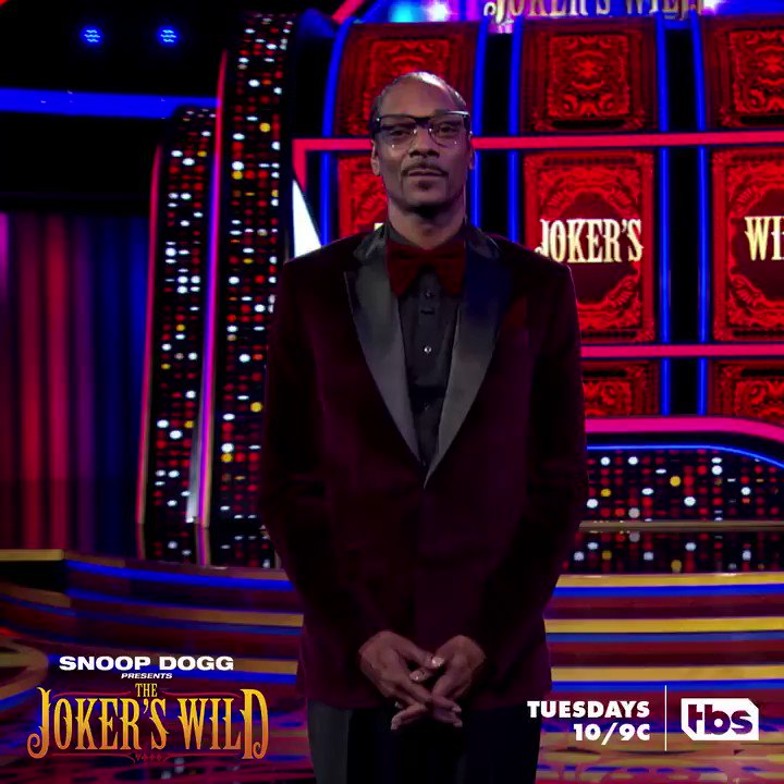 RT @JokersWildTBS: Who's ready for #JokersWild TONIGHT? Tweet with @SnoopDogg live to get in on the action. https://t.co/U2pZ0RIAk1