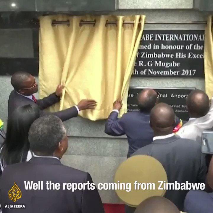 "#Zimbabwe's President Robert Mugabe is ""being eaten by a monster that he created,"" says Zimbabwean lawyer @Wamagaisa"