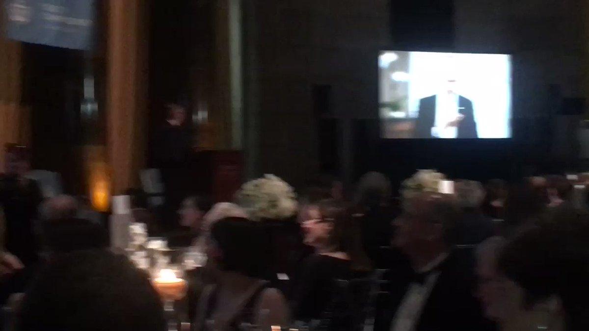 RT @Columbia_CCAA: .@BarackObama CC'83 gives a special message to tonight's #HamiltonAward recipient @jonathan_lavine CC'88 🎉 https://t.co/…