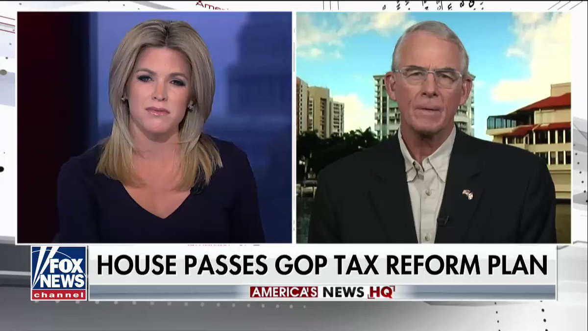 .@FrancisRooney on the House passing a tax bill: 'Thursday was a historic day for the House and for our country.' https://t.co/uK4xfuAMQs