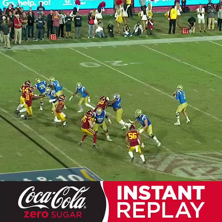 Assist: Helmet.  See how it happened in the @CocaCola Instant Replay. https://t.co/dOZQngfmSx