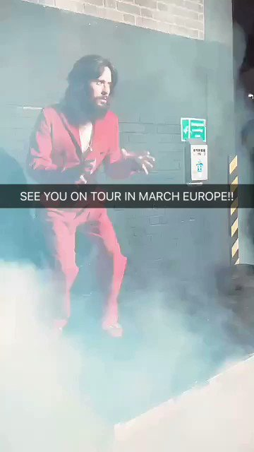 SEE YOU ON TOUR IN MARCH EUROPE https://t.co/BX1egI9519 https://t.co/6Xm0sudE6K