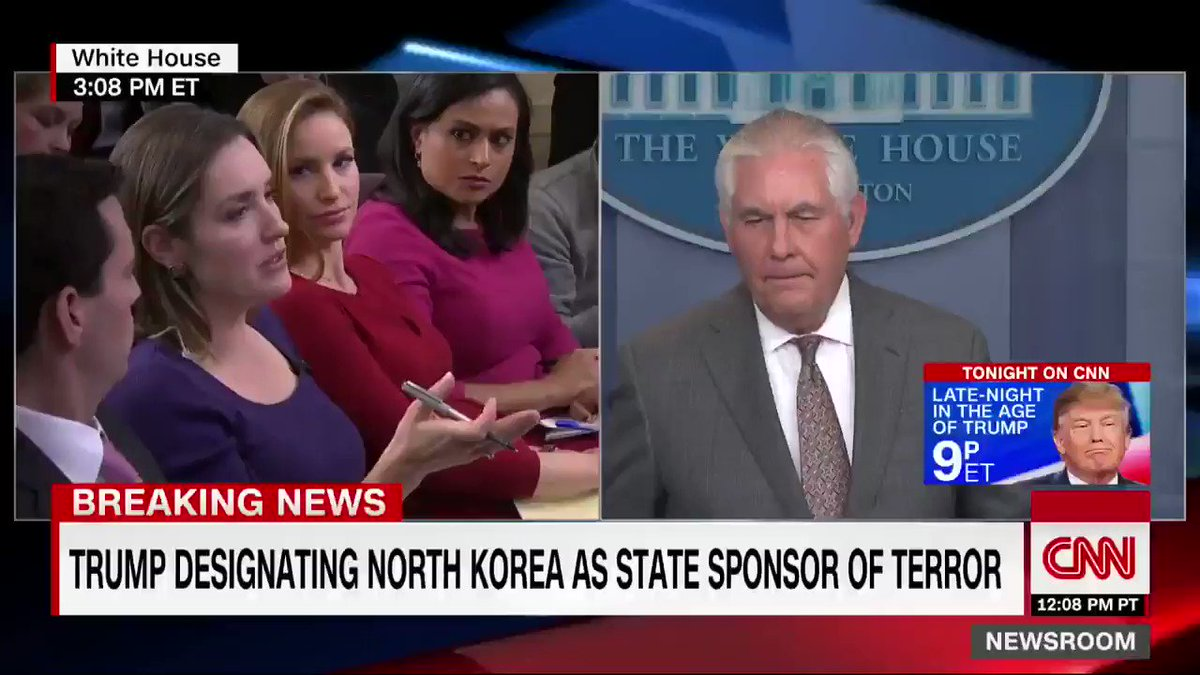 """Secretary of State Rex Tillerson: """"We still hope for diplomacy"""" with North Korea"""