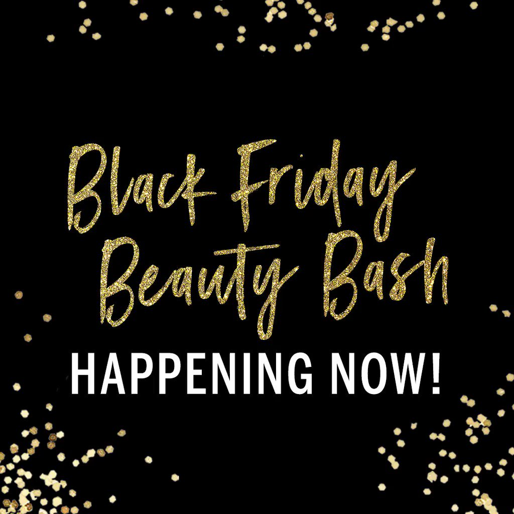 Prepare to be DAZZLED: #BlackFriday beauty deals going on NOW! ???????? only. https://t.co/HIcug9T4ES https://t.co/D8QPpsnhQm