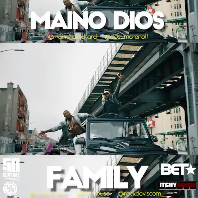 "My boy @mainohustlehard new video ""Family"" is premiering tonight on #50CentralBET ????????Don't Miss it https://t.co/4JRK5853YA"