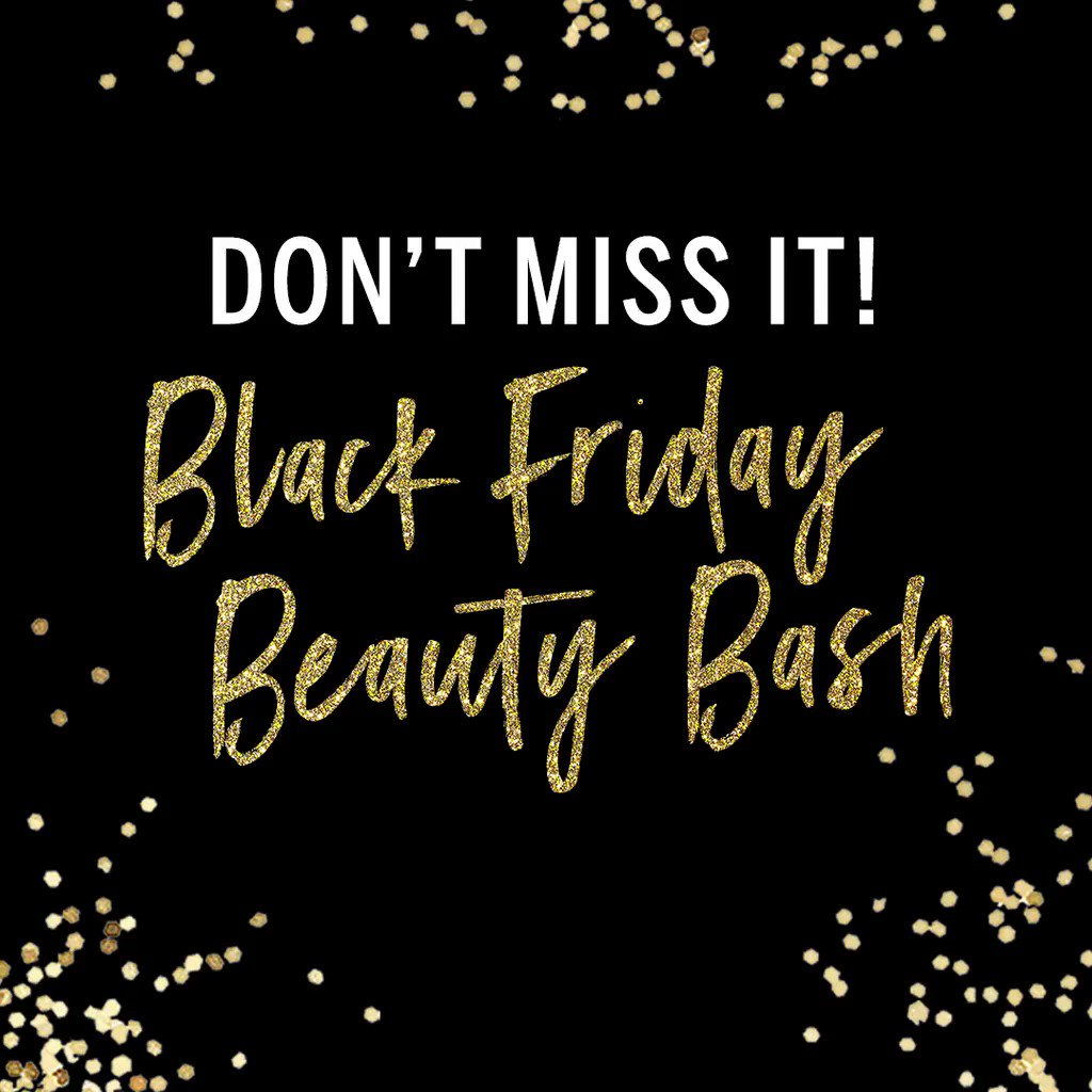 RSVP ASAP—the #BlackFriday Beauty Bash is a can't-miss! ???????? only. https://t.co/oiT9aPV3T1 https://t.co/Bh5q50JxNX