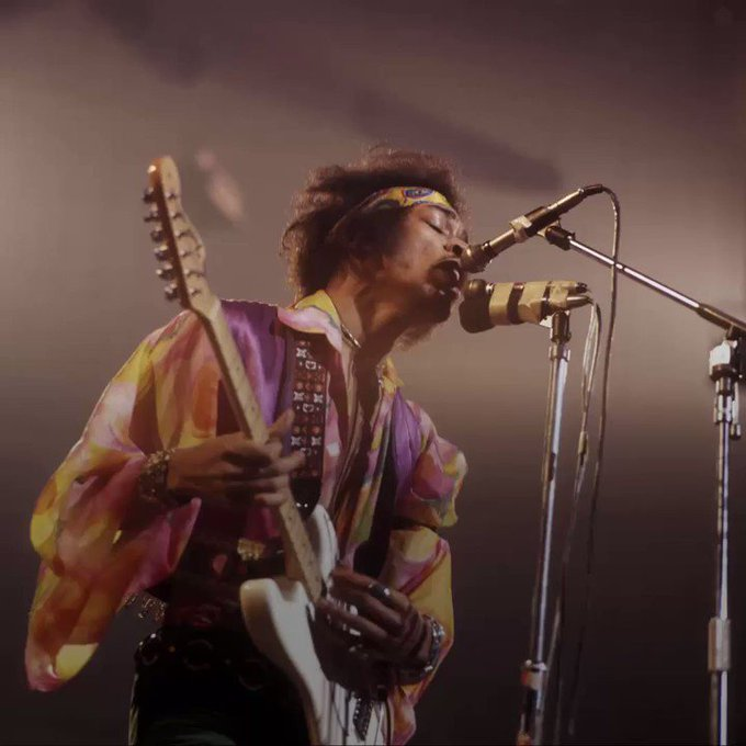 Happy Birthday to the legendary Jimi Hendrix, who revolutionized music! Rock and Roll will never forget you!