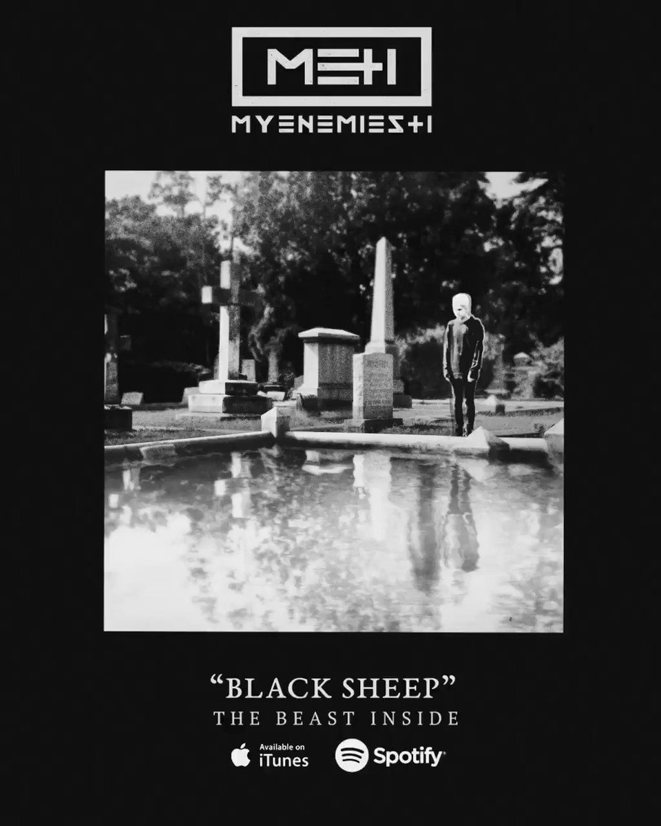 """""""Black Sheep"""" - off our debut record #TheBeastInside OUT NOW! ��  https://t.co/LANqN3yVSF https://t.co/ygLJ8AdDWo"""