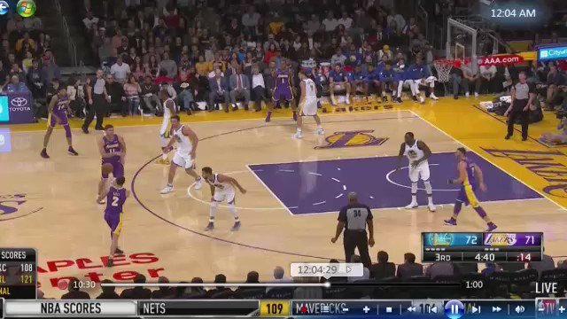Lonzo from DEEP...ON FIRE https://t.co/uLfbaUSUUV