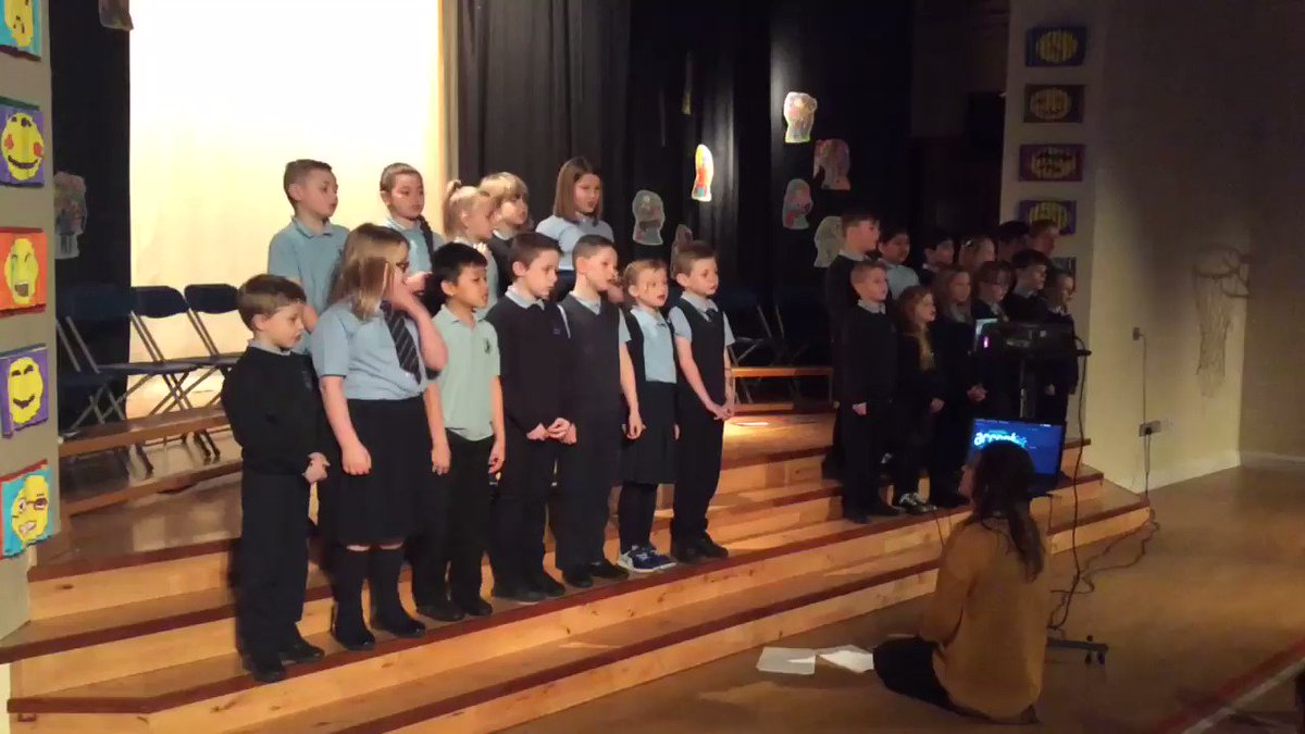Wonderful singing by P4 at their class assembly today ������ https://t.co/0LUFHuEnZa