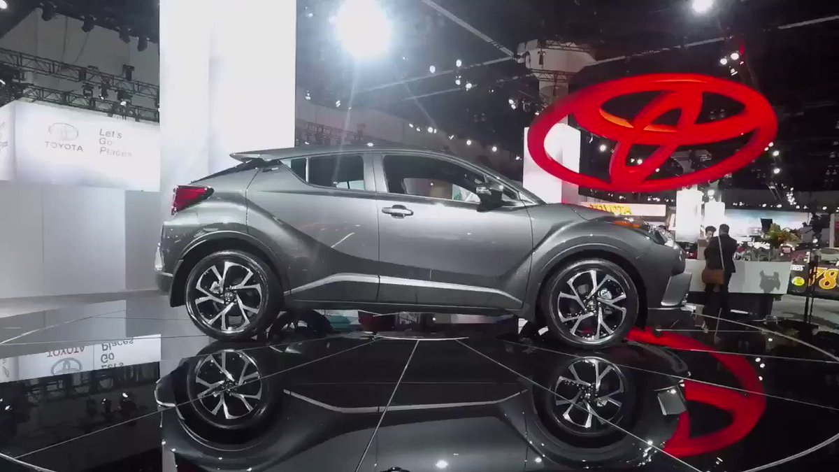 The #ToyotaCHR stands out for all of the right reasons - distinctive style and a rebellious spirit. #LAAutoShow https://t.co/eHA3f77AIS