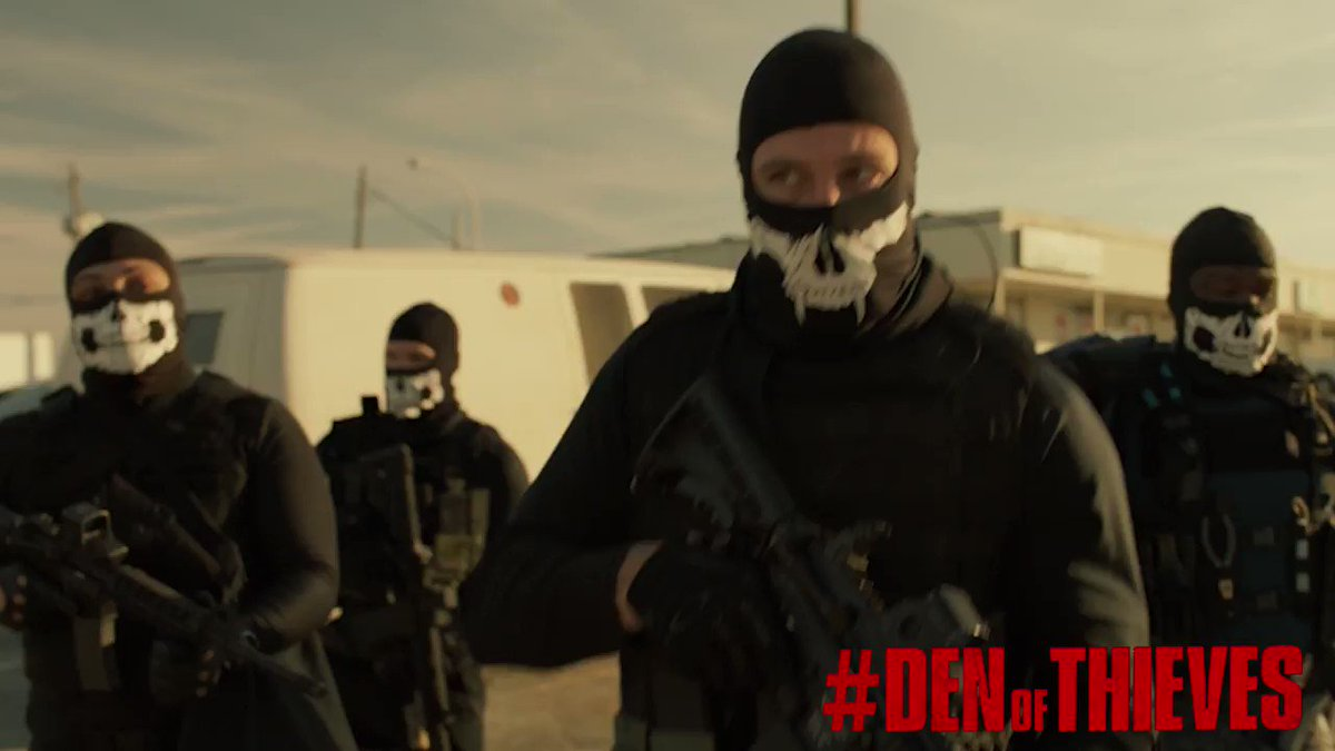Squad up! #DenOfThieves https://t.co/rH8hHk6Yeh