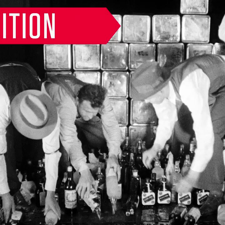 "Prohibition ended on #ThisDayinHistory 1933. So kick back, crack open a cold one and ""celebrate history."" #Cheers https://t.co/5JT0ru3BX7"