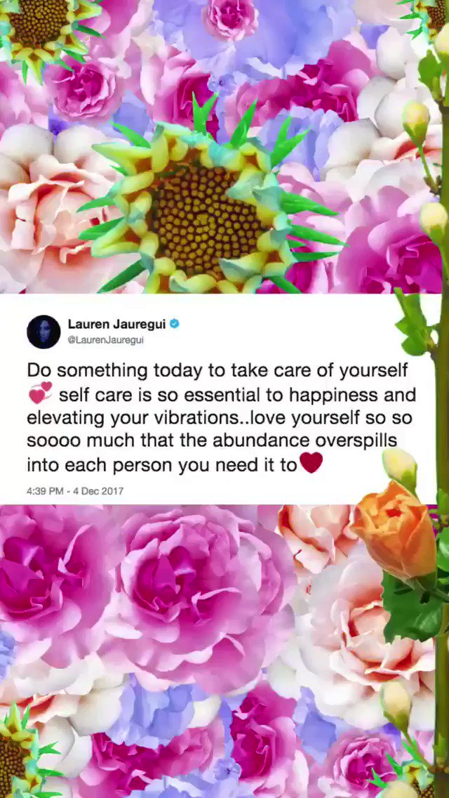 A little #WednesdayWisdom from @LaurenJauregui �� | For more, check our our Instagram story: https://t.co/pihhNU5pF6 https://t.co/MbuzLxA2ve